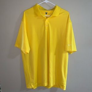 Yellow men's Nike shirt